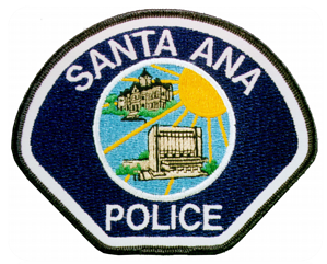 Santa Ana PD badge