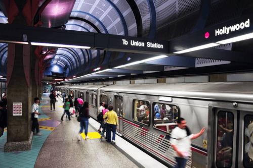 La Metro Station
