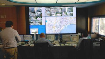 External/Programmed Control of Video Wall Systems