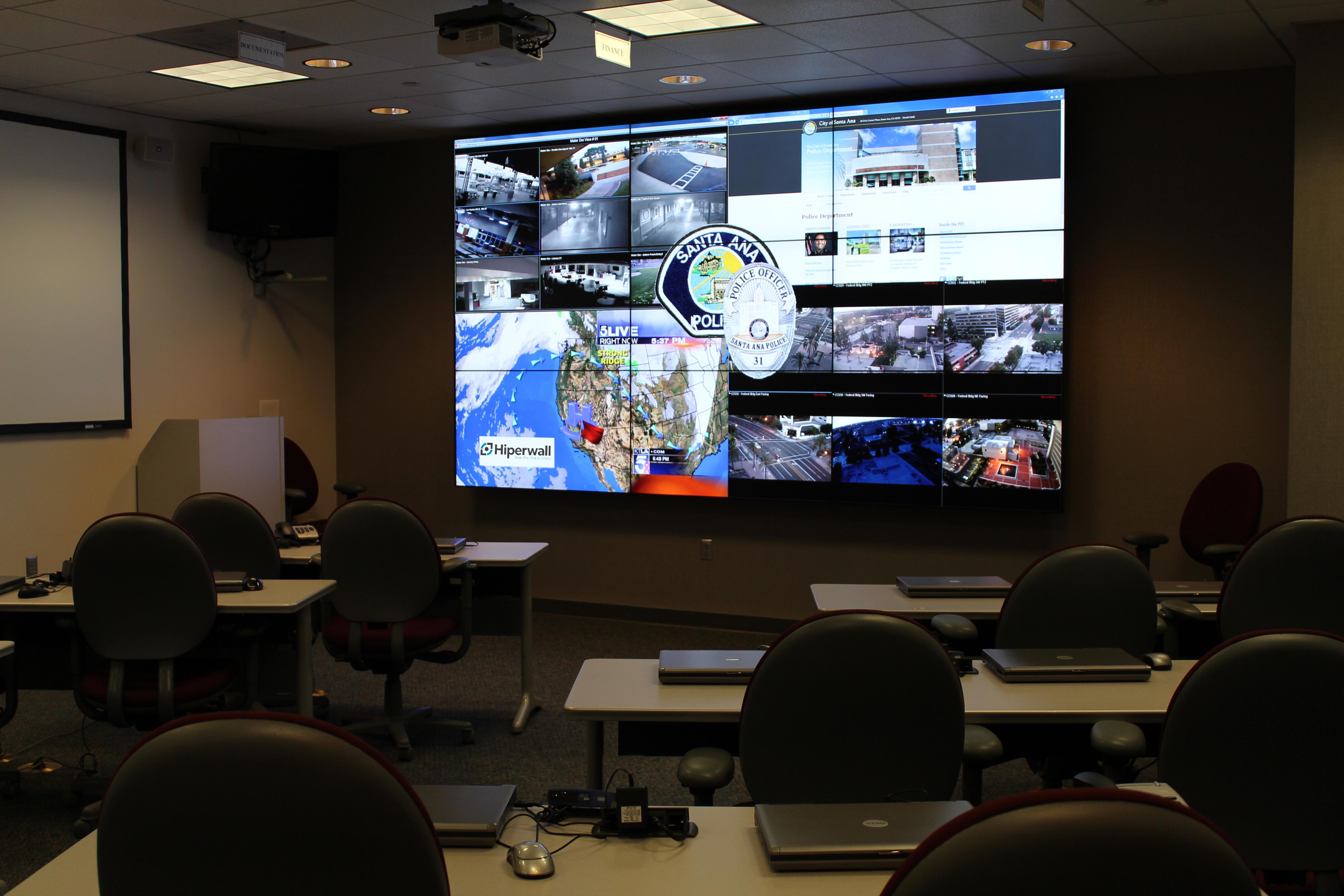 Keeping a City Safe: Santa Ana Emergency Operations Center