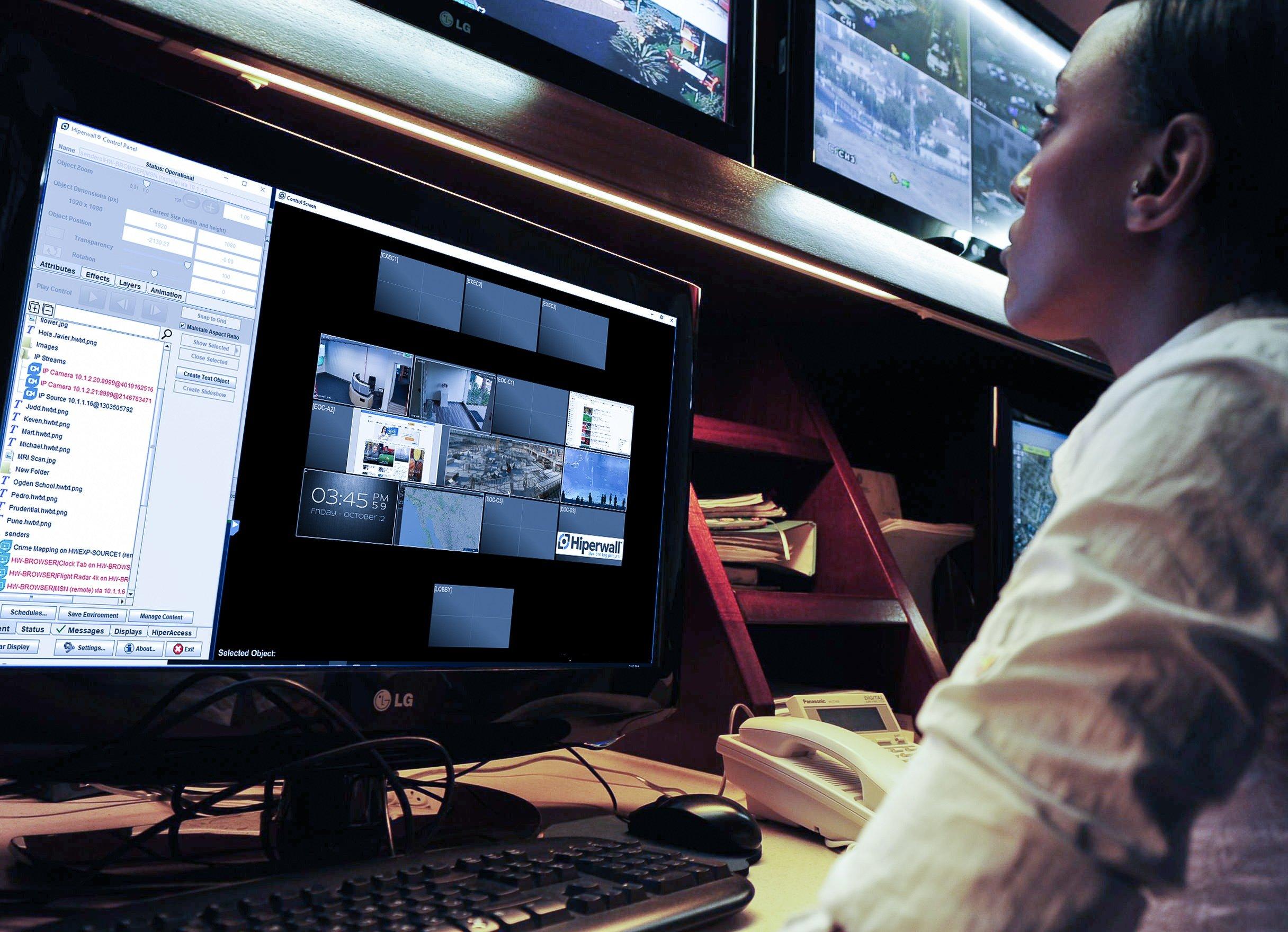 Video Wall Operator