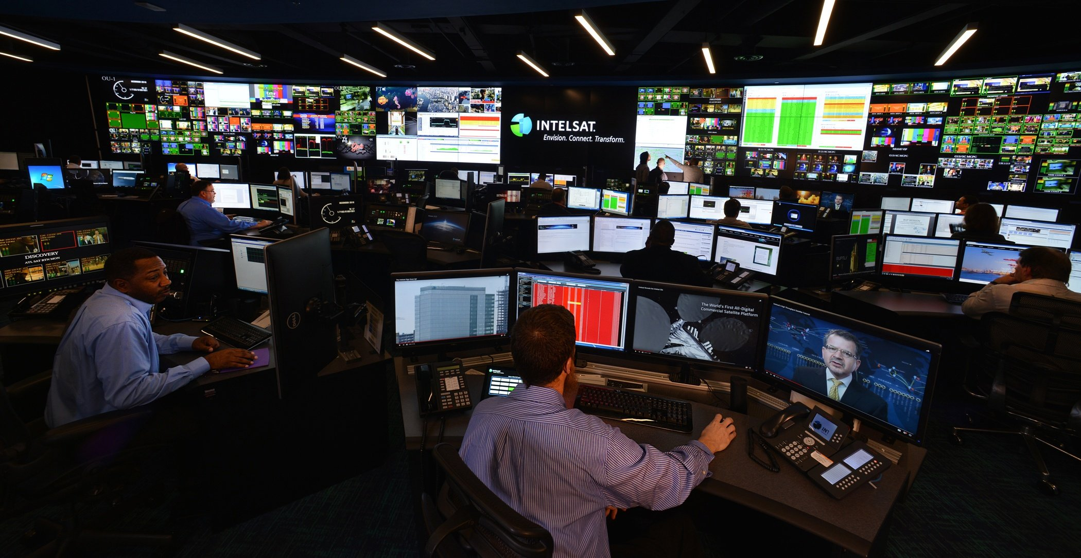 IntelSat Control Room